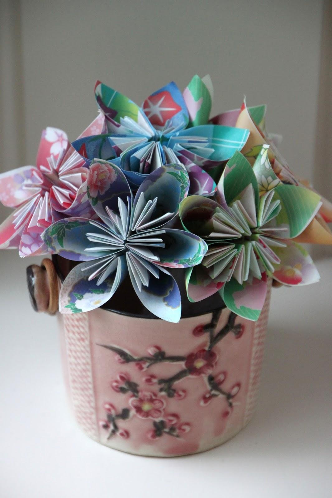 Origami Flowers Tillys Nest