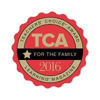 Learning Magazine Teacher's Choice Award
