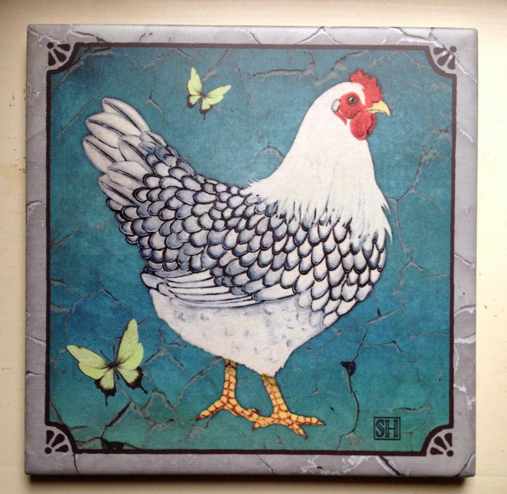 Giveaway: Sarah Hudock\'s Lighthearted Art Trivet | Tilly\'s Nest