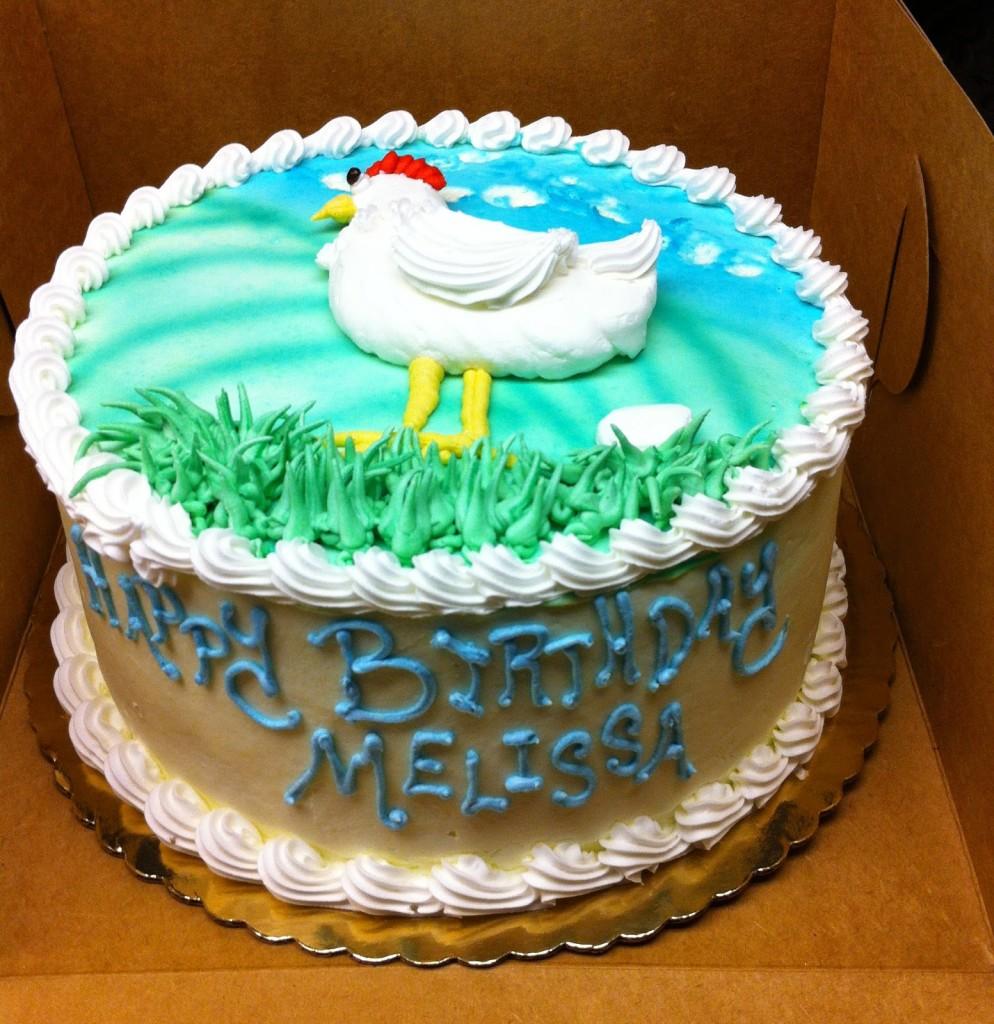 Chicken Birthday Cake Tillys Nest
