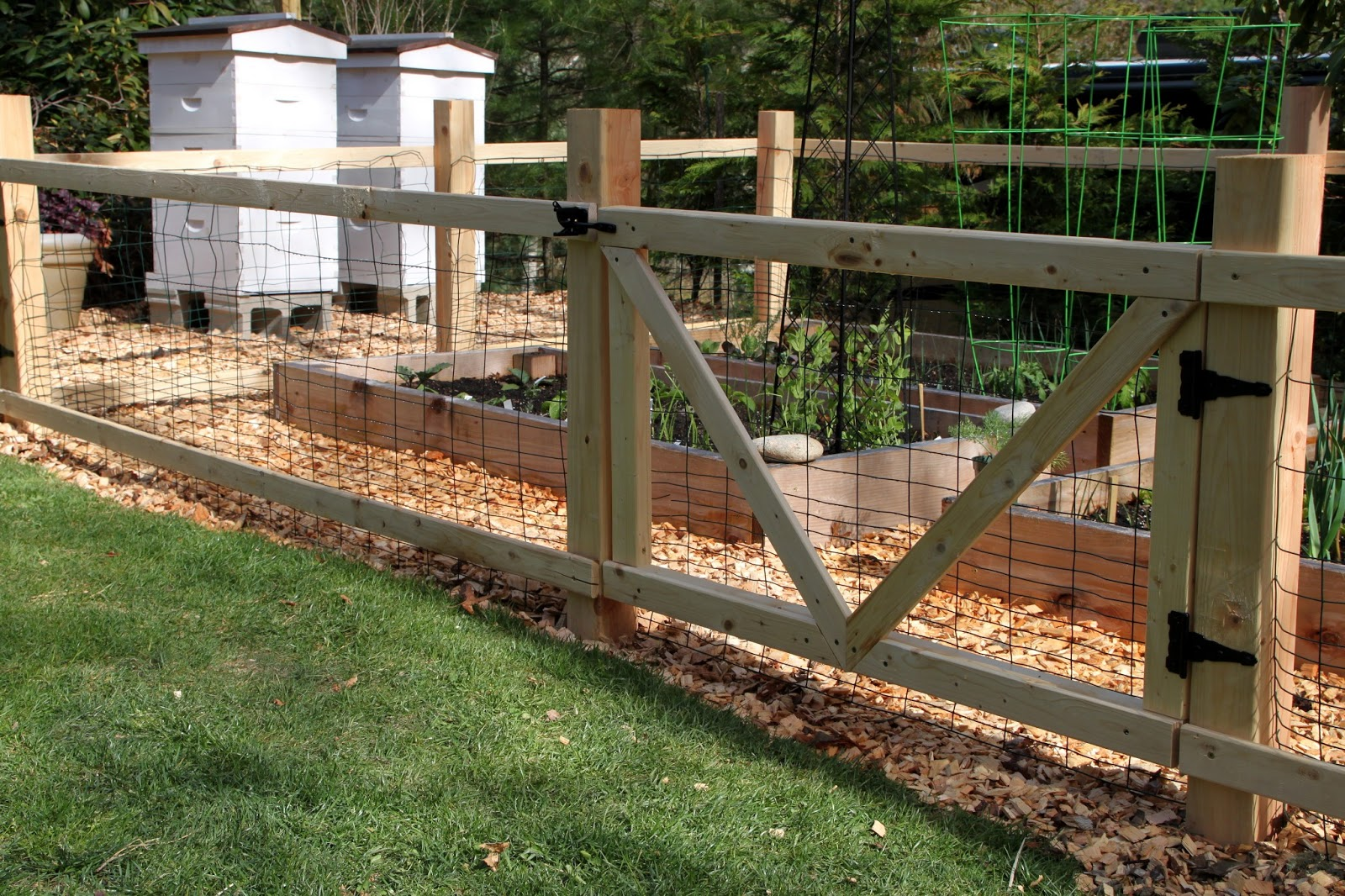 Awesome A Simple Garden Fence
